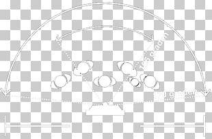 Brand White Circle Line Art PNG