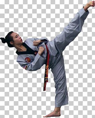 Martial Arts Kick Taekwondo Karate Strike PNG