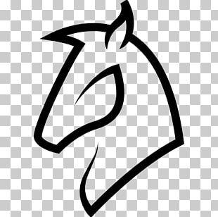 Horse Head Mask Drawing PNG