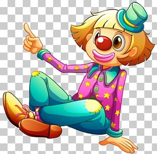 Clown Circus Drawing PNG