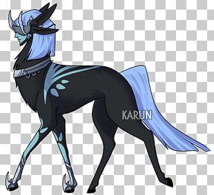 Dog Horse Character Cartoon Fiction PNG