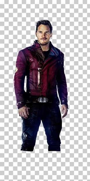 Chris Pratt Spider-Man Star-Lord Guardians Of The Galaxy Vol. 2 Jacket PNG