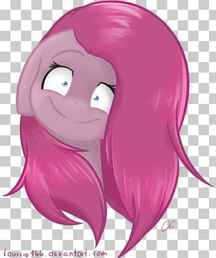 Pinkie Pie Horse Cheek Lip Ear PNG