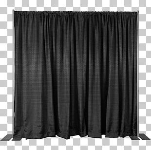 Pipe And Drape Curtain Drapery Window Treatment Velour PNG