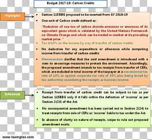 Income Tax Carbon Credit Budget Income Tax PNG