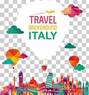 Italy Skyline Illustration PNG