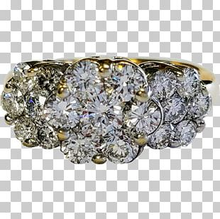 Ring Gold Diamond Jewellery Estate Jewelry PNG