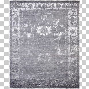 Black White Viscose Rectangle Silk PNG