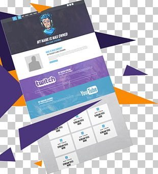 Streaming Media Twitch Video Game Live Streaming Web Template System PNG
