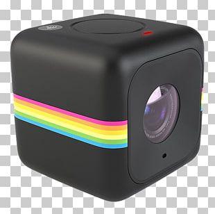 Action Camera Polaroid Cube+ Polaroid Corporation Digital Cameras PNG