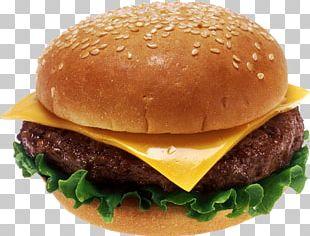 Cheeseburger Hamburger French Fries Burger King Patty PNG