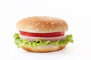 Hamburger Fast Food Breakfast Sandwich Jam Sandwich Cheeseburger PNG