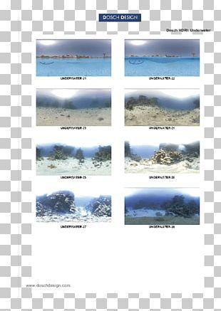 High-dynamic-range Imaging Underwater Radiosity PNG