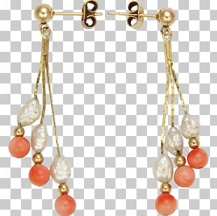 Pearl Earring Body Jewellery Necklace Bead PNG