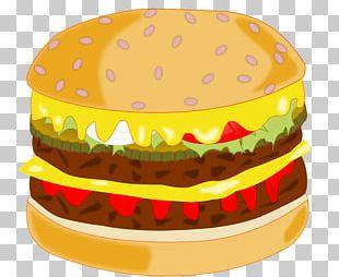 Hamburger Cheeseburger Fast Food Whopper PNG