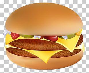 Hamburger Cheeseburger Hot Dog Fast Food Breakfast Sandwich PNG