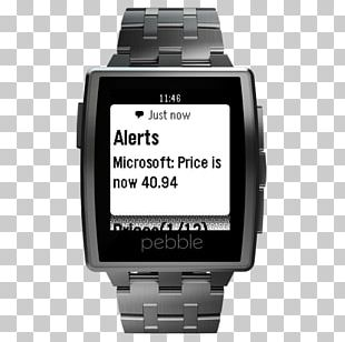 Pebble Time LG G Watch Pebble STEEL Smartwatch PNG