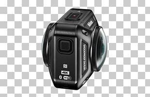 Nikon KeyMission 360 Action Camera 4K Resolution Immersive Video PNG