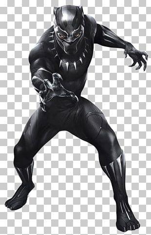 Black Panther Erik Killmonger Shuri Standee Poster PNG