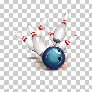 Bowling Ball Bowling Pin Strike PNG