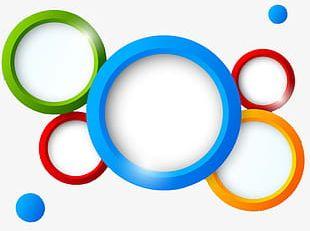 Colored Circles PNG