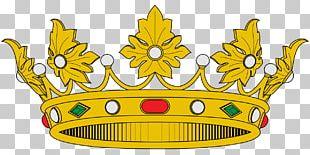 Spain Crown Of Aragon Heraldry Coroa Real PNG