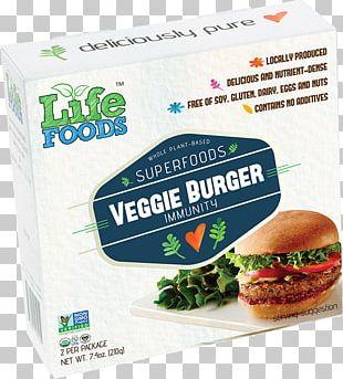 Hamburger Veggie Burger Fast Food Vegetarian Cuisine Recipe PNG