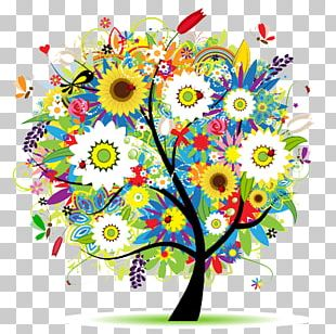 Graphics Tree Painting Illustration Design PNG