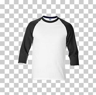 T-shirt Raglan Sleeve Gildan Activewear Collar PNG