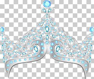 Elsa Crown Diamond Tiara PNG