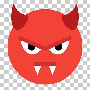 Computer Icons Emoticon Emoji Smiley Evil PNG