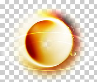 Yellow Sphere PNG