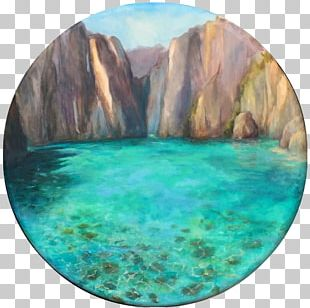 Oil Painting Canvas Landscape Painting PNG