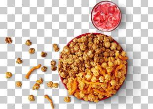 Vegetarian Cuisine Popcorn Caramel Corn Pretzel AMC Theatres PNG