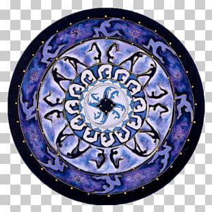 Mandala Sacred Geometry Circle Purple PNG
