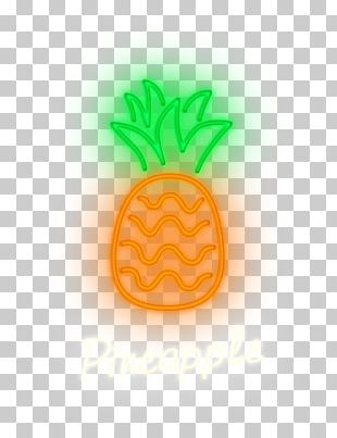 Pineapple Font PNG