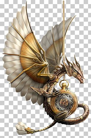 Dragon Fantasy Steampunk Goth Subculture Science Fiction PNG