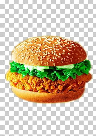 Hamburger KFC Fried Chicken Fast Food Cheeseburger PNG
