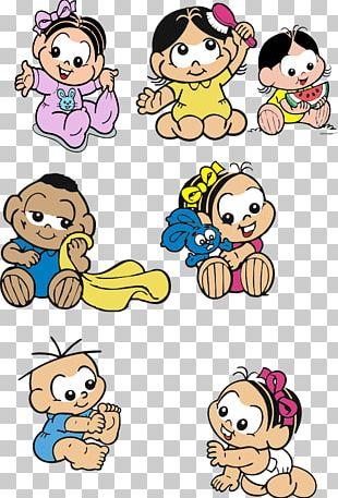 Monica's Gang Turma Da Mônica Baby PNG