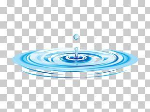 Ripple Drop Water Drawing PNG