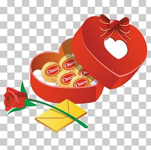 Valentine's Day Gift Heart PNG
