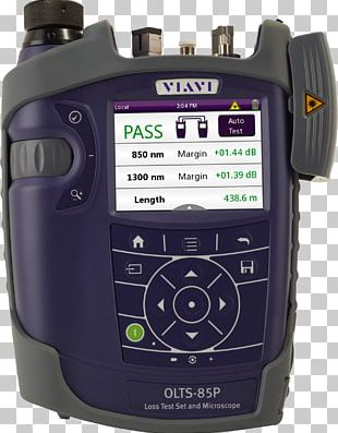 Optics Multi-mode Optical Fiber Optical Power Meter Viavi Solutions PNG