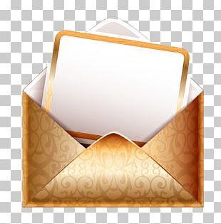 Paper Envelope Address PNG