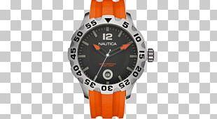 Watch Nautica Clock Strap Chronograph PNG