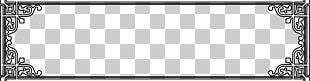 Black And White Frame Brand Pattern PNG