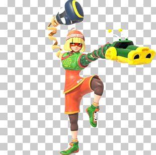Arms Nintendo Switch MIN・MIN・MIN PNG