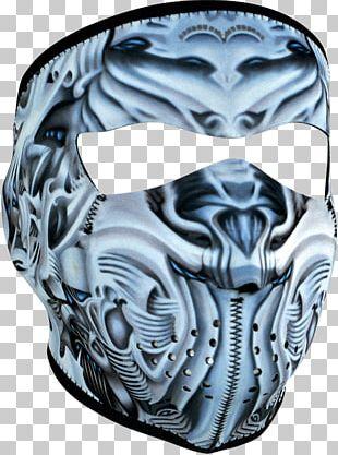 Neoprene Mask Balaclava Face Headgear PNG