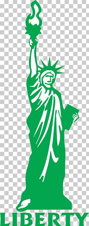 Statue Of Liberty Drawing Cartoon PNG