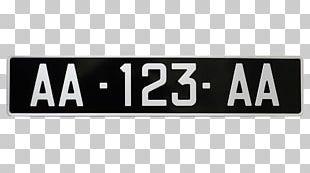 Vehicle License Plates Product Logo Signage PNG