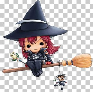 Witchcraft Halloween Drawing PNG